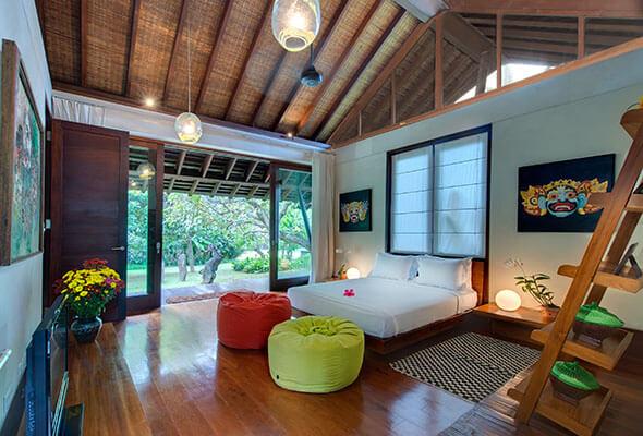 Samadhana - Main house guest room 1
